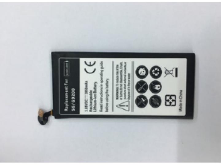Усиленная батарея-аккумулятор большой повышенной ёмкости 2850mah для телефона Samsung Galaxy S6 SM-G920F+ гара..