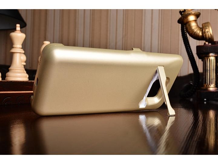 Чехол-бампер со встроенной усиленной мощной батарей-аккумулятором большой повышенной расширенной ёмкости 8000m..