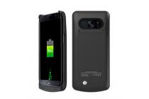 """Чехол-бампер со встроенной усиленной мощной батарей-аккумулятором большой повышенной расширенной ёмкости 8000mAh для Samsung Galaxy S7 edge G9350/G935/S7 edge Injustice Edition 5.5"""" черный + гарантия"""