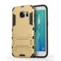 Противоударный усиленный ударопрочный фирменный чехол-бампер-пенал для Samsung Galaxy S7 edge G9350/G935 5.5