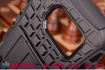 """Противоударный усиленный ударопрочный фирменный чехол-бампер-пенал для Samsung Galaxy S7 G930 / G9300 5.1""""  черный"""