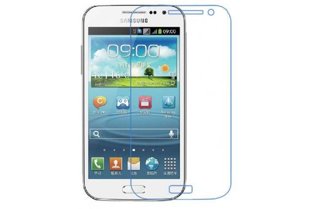 Фирменная оригинальная защитная пленка для телефона Samsung Galaxy Win GT-I8552 глянцевая