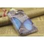 Фирменная роскошная задняя панель-чехол-накладка с безумно красивым расписным узором на Samsung Galaxy Grand G..