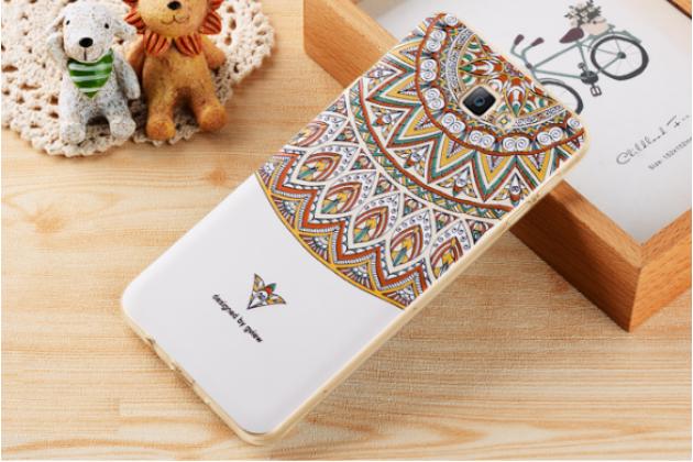 Фирменная уникальная задняя панель-крышка-накладка из тончайшего силикона для Samsung Galaxy J5 Prime/ Samsung Galaxy On5 2016 с объёмным 3D рисунком тематика Эклектические узоры