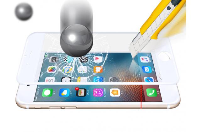 Фирменное защитное закалённое противоударное стекло премиум-класса из качественного японского материала с олеофобным покрытием для телефона Samsung Galaxy J5 Prime/ Samsung Galaxy On5 2016