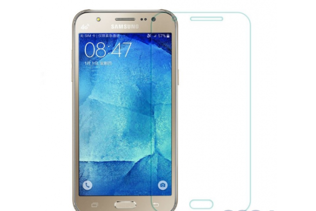 Фирменная оригинальная защитная пленка для телефона Samsung Galaxy J5 Prime/ Samsung Galaxy On5 2016 глянцевая