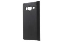 """Фирменный оригинальный чехол с логотипом для Samsung Galaxy Z3 5.0"""" черный угольный"""
