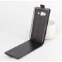 Фирменный оригинальный вертикальный откидной чехол-флип для Samsung Galaxy Z3 5.0