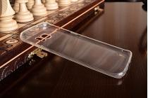 """Фирменная ультра-тонкая полимерная из мягкого качественного силикона задняя панель-чехол-накладка для Samsung Galaxy S7 edge G9350/G935 5.5"""" белая"""