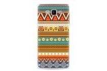 Фирменная роскошная задняя панель-чехол-накладка с безумно красивым расписным эклектичным узором на Samsung Galaxy A5 SM-A500F/H