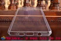 """Фирменная ультра-тонкая полимерная из мягкого качественного силикона задняя панель-чехол-накладка для  Samsung Galaxy A5 2016/  A5+ / A510 / A5100 5.2""""  прозрачная"""