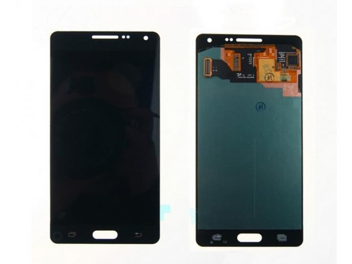 Фирменный LCD-ЖК-сенсорный дисплей-экран-стекло с тачскрином на телефон Samsung Galaxy A5 SM-A500F/H черный + ..