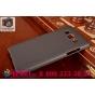 Фирменная задняя панель-крышка-накладка из тончайшего и прочного пластика для Samsung Galaxy A5 черная..