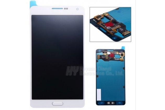 Фирменный LCD-ЖК-сенсорный дисплей-экран-стекло с тачскрином на телефон Samsung Galaxy A7/A7 Duos SM-A700F/A700H/A700FD белый + гарантия