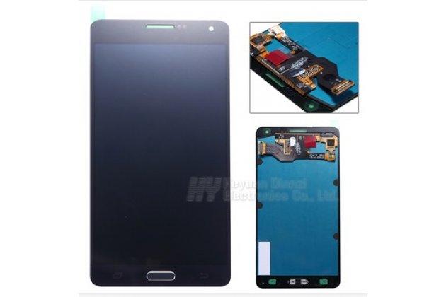 Фирменный LCD-ЖК-сенсорный дисплей-экран-стекло с тачскрином на телефон Samsung Galaxy A7/A7 Duos SM-A700F/A700H/A700FD черный + гарантия