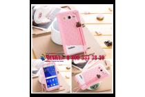 """Фирменная необычная уникальная полимерная мягкая задняя панель-чехол-накладка для Samsung Galaxy Core 2 G355h """"тематика Андроид в клубничном шоколаде"""""""