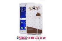 """Фирменная необычная уникальная полимерная мягкая задняя панель-чехол-накладка для Samsung Galaxy Core 2 G355h """"тематика Андроид в Белом Шоколаде"""""""