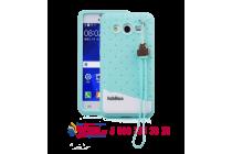 """Фирменная необычная уникальная полимерная мягкая задняя панель-чехол-накладка для Samsung Galaxy Core 2 G355h """"тематика Андроид в мятном шоколаде"""""""