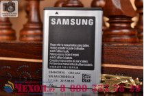Фирменная аккумуляторная батарея 1350mah EB494358VU на телефон Samsung Galaxy Gio GT-S5660 + гарантия