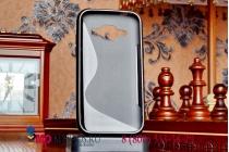 Фирменная ультра-тонкая полимерная мягкая задняя панель-чехол-накладка для Samsung Galaxy J1 SM-J100H/F/DS черная