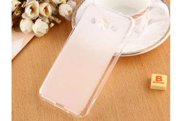 """Фирменная ультра-тонкая полимерная из мягкого качественного силикона задняя панель-чехол-накладка для Samsung Galaxy J3 (2016) SM-J320F/DS/J320H/DS 5.0"""" белая"""