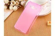 """Фирменная ультра-тонкая полимерная из мягкого качественного силикона задняя панель-чехол-накладка для Samsung Galaxy J3 (2016) SM-J320F/DS/J320H/DS 5.0"""" розовая"""