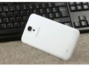 Родная оригинальная задняя крышка-панель которая шла в комплекте для Samsung Galaxy Mega 6.3 GT-i9200 белая..