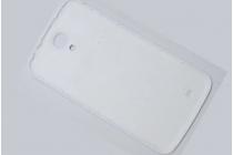 Родная оригинальная задняя крышка-панель которая шла в комплекте для Samsung Galaxy Mega 6.3 GT-i9200 белая