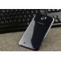 Родная оригинальная задняя крышка-панель которая шла в комплекте для Samsung Galaxy Mega 6.3 GT-i9200 черная..