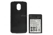 Усиленная батарея-аккумулятор большой ёмкости 3600mAh для телефона Samsung Galaxy Nexus GT-I9250 + задняя крышка черная+ гарантия