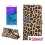 Чехол-защитный кожух для Samsung Galaxy Note 5 леопардовый коричневый..
