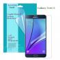 Фирменная оригинальная защитная пленка для телефона Samsung Galaxy Note 5 глянцевая..