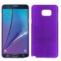 Фирменная задняя панель-крышка-накладка из тончайшего и прочного пластика для Samsung Galaxy Note 5 фиолетовая..