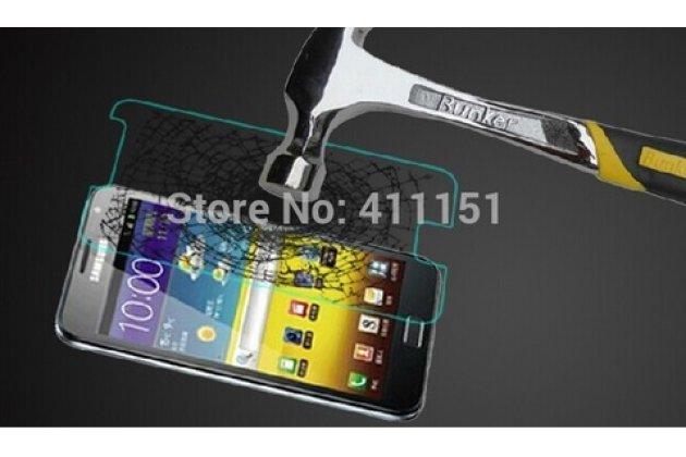 Фирменное защитное закалённое противоударное стекло премиум-класса из качественного японского материала с олеофобным покрытием для Samsung Galaxy Note 1 N7000/LTE GT-N7005