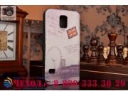 Фирменный уникальный необычный чехол-книжка для Samsung Galaxy S5 SM-G900H/G900F