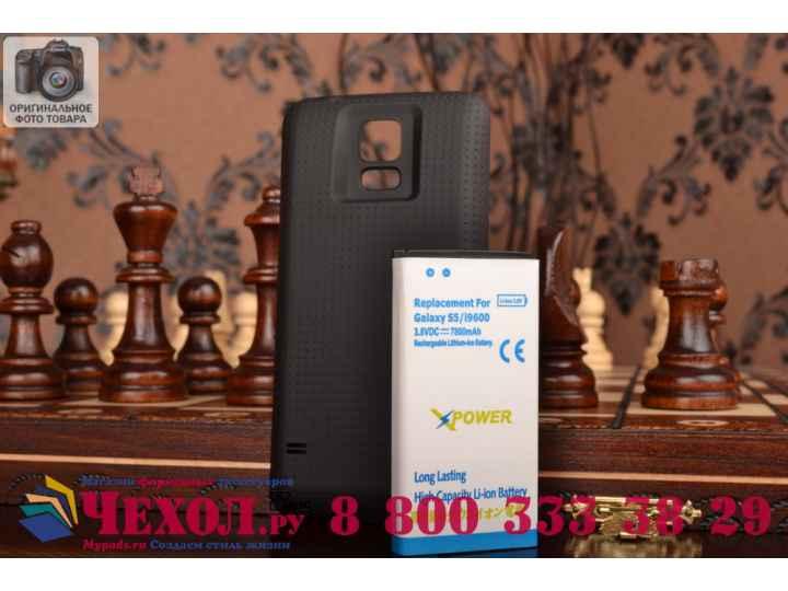 Усиленная батарея-аккумулятор большой повышенной ёмкости 7800mah для телефона Samsung Galaxy S5 /S5 Duos SM-G9..