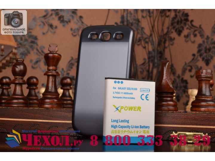 Усиленная батарея-аккумулятор большой повышенной ёмкости 6400mah для телефона Samsung Galaxy S3 GT-I9300/Duos ..