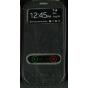 Чехол для Samsung Galaxy S3 GT-i9300 черный кожаный..