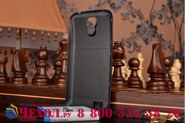 Усиленная батарея-аккумулятор большой повышенной ёмкости 5800 mah для телефона Samsung Galaxy S4 / S4 LTE/ S4 Value GT-i9500/i9505/i9506/i9515  + задняя крышка черная+ гарантия