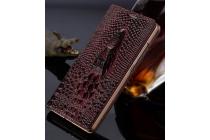 """Фирменный роскошный эксклюзивный чехол с объёмным 3D изображением кожи крокодила фиолетовый для  Samsung Galaxy S7 G930 / G9300 5.1"""" . Только в нашем магазине. Количество ограничено"""