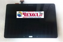 Фирменный LCD-ЖК-сенсорный дисплей-экран-стекло с тачскрином на планшет Samsung Galaxy Note 10.1 2014 edition SM-P600/P601/P605 черный и инструменты для вскрытия + гарантия