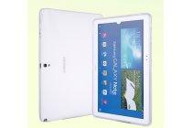 Фирменная ультра-тонкая полимерная из мягкого качественного силикона задняя панель-чехол-накладка для планшета Samsung Galaxy Note 10.1 2014 edition SM-P600/P601/P605 белая