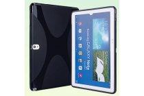 Фирменная ультра-тонкая полимерная из мягкого качественного силикона задняя панель-чехол-накладка для планшета Samsung Galaxy Note 10.1 2014 edition SM-P600/P601/P605 черная