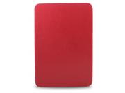 Чехол-обложка для Samsung Galaxy Note 10.1 N8000 красный кожаный