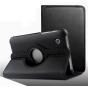 Чехол роторный-оборотный для Samsung Galaxy Tab 2 7.0 P3100 черный кожаный №2..