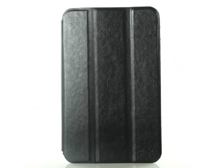 Чехол для Samsung Galaxy Tab 2 7.0 P3100 черный кожаный