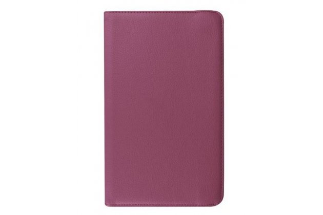 Чехол для Samsung Galaxy Tab 2 7.0 P3100/P3110 поворотный фиолетовый кожаный