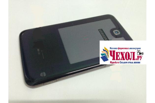 Родная оригинальная задняя крышка-панель которая шла в комплекте для Samsung Galaxy Tab 3 7.0 SM-T210 черная