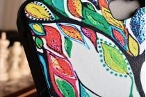 """Фирменный необычный чехол для Samsung Galaxy Tab A 10.1 2016  SM-T580 / T585C / T585N """"тематика книга Сказочное Дерево"""""""
