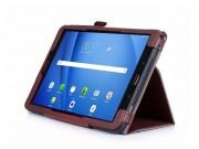 Фирменный чехол бизнес класса для Samsung Galaxy Tab A 10.1 2016  SM-T580 / T585C / T585N с визитницей и держа..